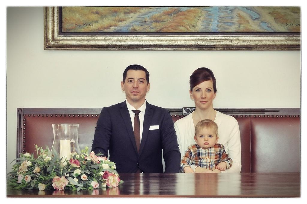 Hochzeitspaar Westerland