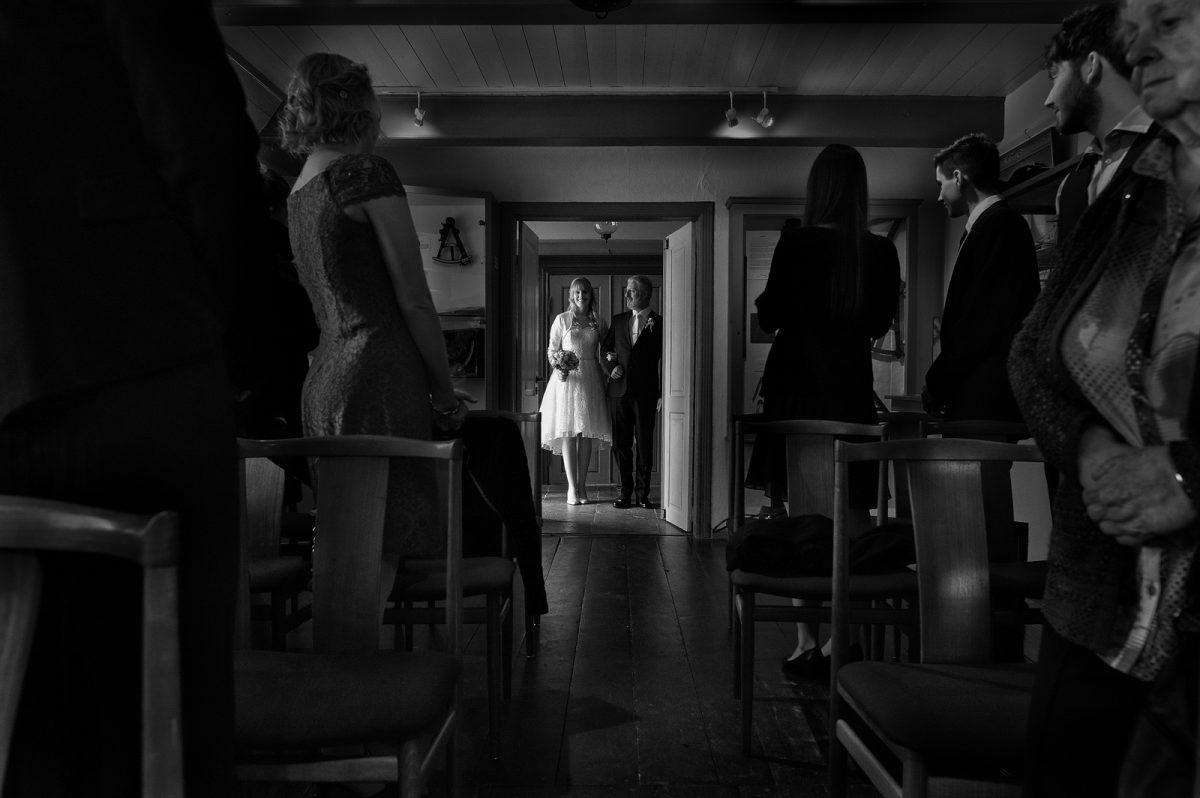 Hochzeit in keitumer Friesenhaus