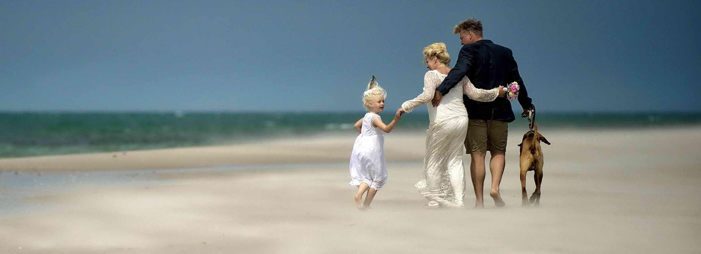 Hochzeit am Strand in Westerland