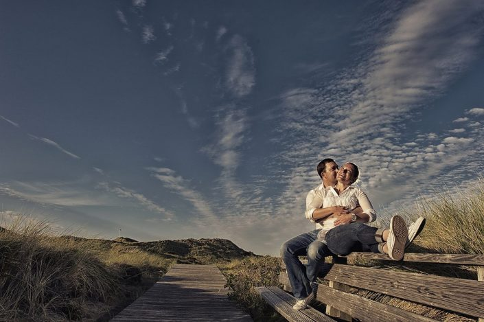 Engagement-Shooting auf Sylt