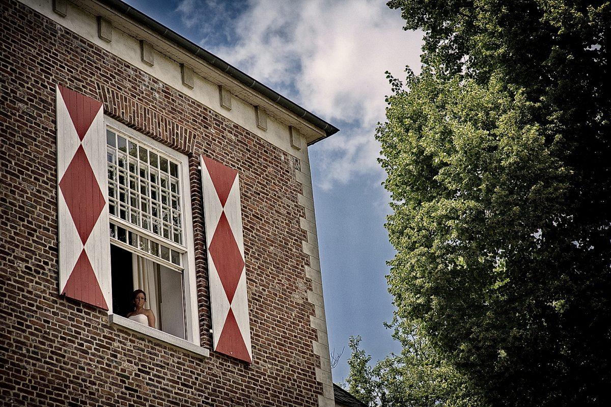 Schloss Hertefeld Blick aufs Fenster
