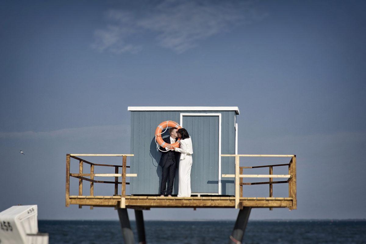 Hochzeit am Strand von Hörnum